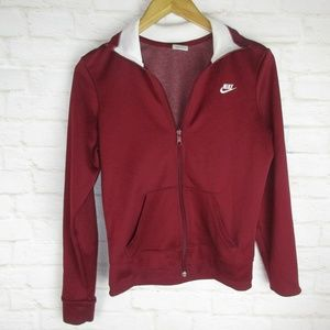 Nike Red Track Jacket women's size M